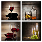 Canvas Wall Art Print Painting Pictures Home Bar Cafe Decor Wine Kitchen Brown