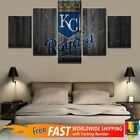 Kansas City Royals Sports 5 Panels Wall Art Printing Canvas Hanging Home Decor on Ebay