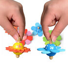 Novelty Funny Wooden Colorful Spinning Top Kids Wood Children's Party Toy Gift
