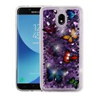 Samsung Galaxy J7 V 2nd Gen 2018 Refine Case Bling Quicksand Glitter Phone cover