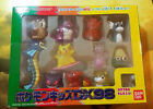 Surfing Pikachu Mewtwo Gyarados Gengar Lot 1998DX Pokmeon Finger Puppet Box Rare