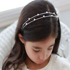 Girls Children Kids Headband Bridal Tiara Crystal Diamante Rhinestone Party Prom