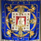 Auth Very Beautiful HOMMAGE A CHARLES GARNIER ARCHITECTE  HERMES Scarf 100% Silk