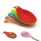 Внешний вид - Silicone Spoon Mat Holder Pad Heat Resistant Placemat Eggbeater Accessory