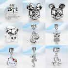Women Silver Bead Charms Animal World All Kinds Of Lovely Animals Pendant Fit Pa
