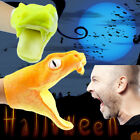 Halloween Viper Animal Hand Puppet Baby Infant Toy Gel Spoof Props Toys Snake