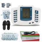 Electrical Stimulator Full Body Relax Massager Pulse Acupuncture Therapy+Slipper