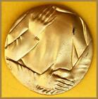 Golden Bronze National Medical Day Medal/ October 18 /1960 By P. Fazzini