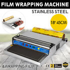 "18"" Food Tray Film Wrapper Wrapping Machine W/Film Tight Supermarket Water"