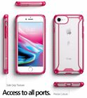 [30pieces/lot] For iPhone 8 / 7 Case Pink POETIC【Affinity】Transparent TPU Cover