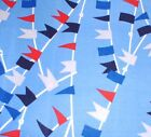 "Cabana Flags Cotton Quilt Fabric Kanvas 18"" X 44"""