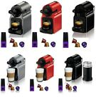 Nespresso Inissia Espresso Maker Brewer 14 Capsules Kit w/ Optional Aeroccino 3
