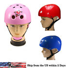 Red/Pink/Blue Kids Youth Helmet ABS Shell Head Protective Bicycle Scooter Sports
