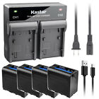 Kastar F980 Battery Rapid Charger for Sony NP-F960 NP-F950 DCR-TR8100 DCR-TRU47