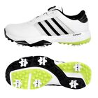 adidas Adipower 360 Bounce BOA Men's Golf Shoes White Lime Wide Fit NWT DA9040