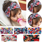 Внешний вид - Baby Toddler Girls Kids Bunny Rabbit Bow Knot Turban Headband Hair Band Headwrap