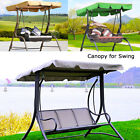 Replacement Canopy For Swing Seat 2 & 3 Seater Sizes Garden Hammock Cover Patio