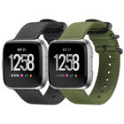 For Fitbit Versa Smart Watch Band Soft Nylon Woven Wrist Replacement Strap