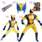 MARVEL WOLVERINE  TODDLER COSTUME Halloween Cosplay Fancy Dr