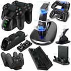 For PlayStation PS4 USB Dual Controller LED Charger Dock Station Charging Stand