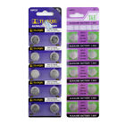 10 pieces 1.5 V batteries AG8 AG9 AG10 AG11 AG12 AG13 391 SR936 LR54 battery