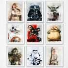 Star Wars  Wall decor Prints, 16 different prints, Your choice of prints $10.8 USD on eBay