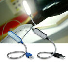 6 LED Flexible USB Lamp Adjustable Light for Keyboard Reading Laptop Notebook