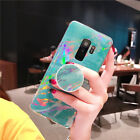 Plating Marble Case for Samsung Galaxy S9 Plus S8 S7 Edge Note 8 9 Phone Cover