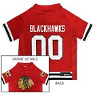 Chicago Blackhawks NHL Pets First Licensed Dog Pet Hockey Jersey Sizes XS-XL $23.97 USD on eBay