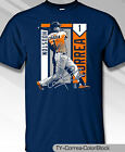 Houston Astros MLBPA CARLOS CORREA #1 Color Block Youth Boys Tee Shirt Navy on Ebay