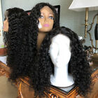 Pre Plucked Curly Wig Brazilian Lace Front Remy Human Hair Wigs Bleached Knots
