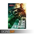 SHARKNADO ITS ABOUT TIME (ZZ047)  MOVIE POSTER Poster Print Art A0 A1 A2 A3