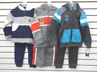 Boys US Polo Assn. 44 Gray or Charcoal Hooded Jacket  Pants 2PC Set Sz 4 - 7