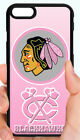 CHICAGO BLACKHAWKS NHL PINK PHONE CASE FOR iPHONE XS MAX X 8 7 6 6S PLUS 5C 5S 4 $14.97 USD on eBay