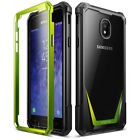 Samsung Galaxy J3 Case Poetic [Hybrid] Clear TPU Bumper Shockproof Cover
