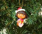 Dora Explorer Cgristmas Ornament Santa Holiday Nick Jr CUTE Free USA Shipping
