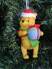 Disney Winnie Pooh Figural Christmmas Ornament Hunny Honey Pot Holiday Scarf NIB