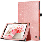 "For Amazon Kindle Fire 7"" 8"" 10"" Tablet - GLITTER FOLIO LEATHER STAND CASE COVER"