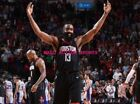 JAMES HARDEN HOUSTON ROCKETS Photo Quality Poster - Choose a Size! B on eBay