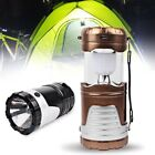 Solar Charging Lantern Outdoor Camping Lantern LED Collapsible Electric Torch CM