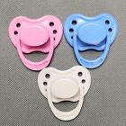 Dolls Accessories Dummy Pacifier For Newborn Internal Magnetic Pink Blue White