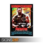 PREDATOR CLASSIC 80S (ZZ052)  MOVIE POSTER Photo Poster Print Art * All Sizes