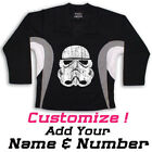 Storm Trooper Star Wars Graphic On Hockey Practice Jersey Name  Number too