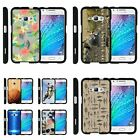 For Samsung Galaxy J1 J120 / Amp 2 / Express 3 Hard Fitted 2 Piece Snap On Case