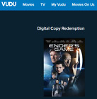 Digital SD + HD + 4K Movie Codes | New Releases / Disney / Marvel and More