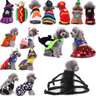 Halloween Dog Cat Clothes Pet Pumpkin Skull Puppy Hoodie Dress Cosplay Costume