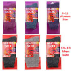Falari 3-Pack Men Women's Heated Sox Thermal Socks Excellent for Cold Weather