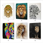 wild lion leather smart case cover ipad