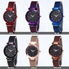 Starry Sky Fashion Watch Waterproof Magnet Strap Buckle Stainless Women gift
