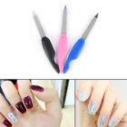 1x Foldable Stainless Steel Metal Nail Art Newest Pedicure Tool File Manicure NJ